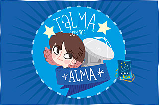 Comic book: Talma conoce ALMA (Spanish)