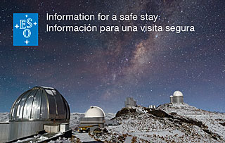 La Silla Map and Safety Flyer