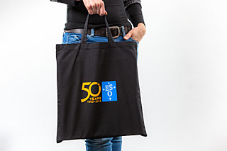 ESO 50 years anniversary tote bags