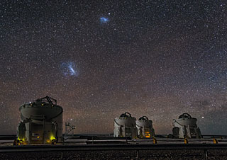 Postcard: The Paranal Auxiliary Telescopes